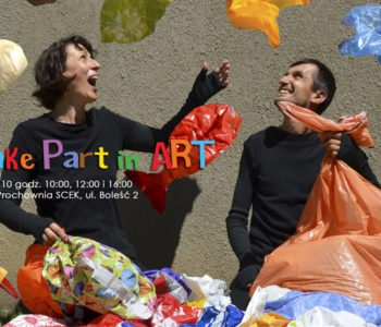 Take Part in Art - plastik