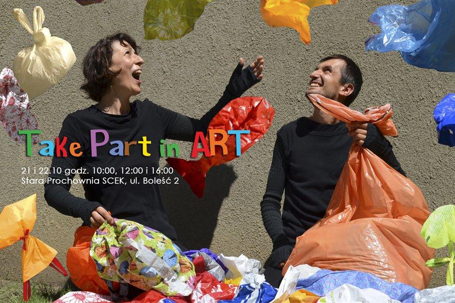 Take Part in Art - plastik