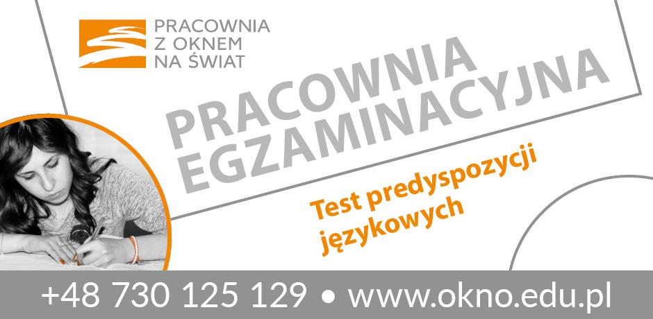 Test predyspozycji językowych - warsztaty dla nastolatków Warszawa 2017 i 2018