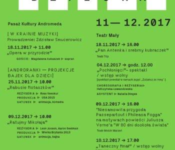 Strefa Dziecka w Teatrze Małym w listopadzie i grudniu – Tychy