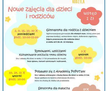 Strefa Rodzica wKlubie Kultury Chełm – październik 2017