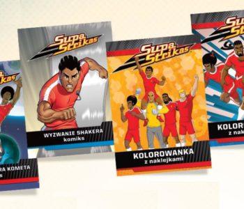 Komiksy Supa Strikas dla chłopców