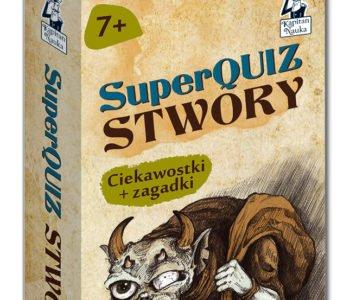 SuperQuiz Stwory. Ciekawostki + zagadki