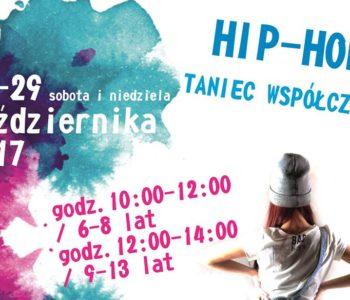 Taneczny weekend! Warsztaty z hip-hopu i tańca współczesnego w Klubie Kultury Mydlniki