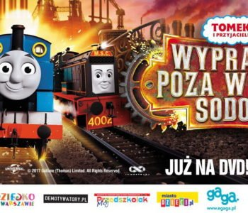 Tomek i przyjaciele Wyprawa poza wyspę Sodor na DVD