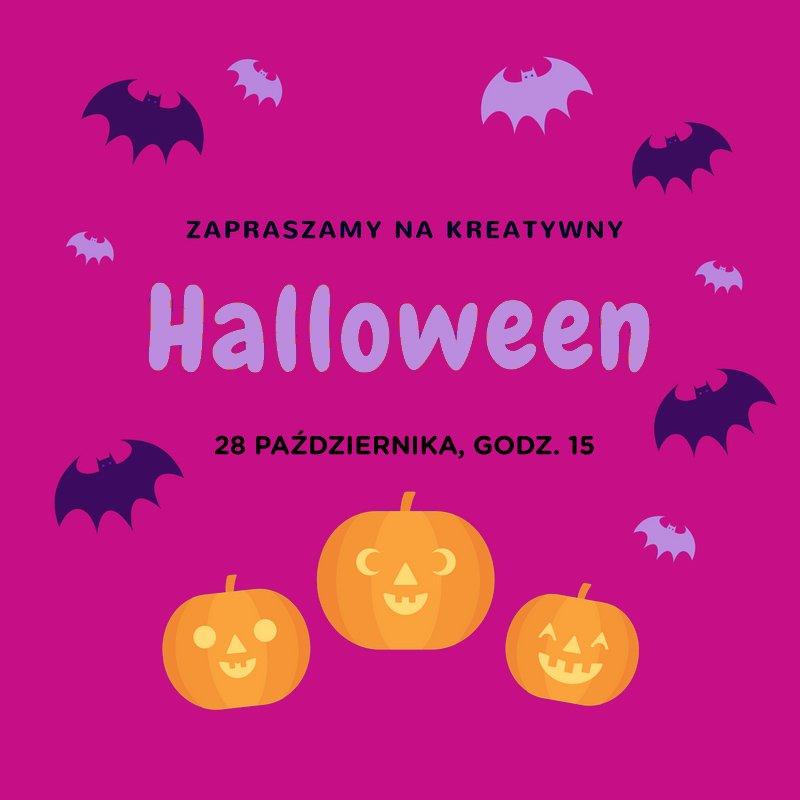 zapraszamynakreatywny_2 Halloween w Praconi M80 Halloween warsztaty Pracownia M80 Mokotów