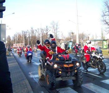 Mikołaje na Motocyklach - motocyklowa akcja charytatywna