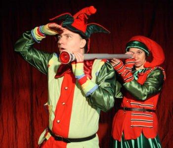 Elfy i fabryka prezentów w Teatrze Maskarada
