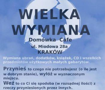 Wielka krakowska wymiana SWAP Ciuchowisko 26