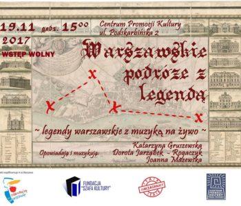 Warszawskie podróże z legendą – dla dzieci i dorosłych!