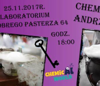 Chemiczne Andrzejki.  Zabawa andrzejkowa 2017