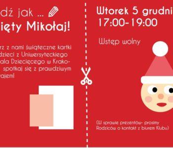 Święty Mikołaj w Klubie Kultury Mydlniki