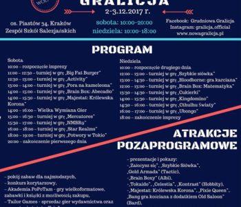 Gralicja – krakowskie spotkanie z grami planszowymi