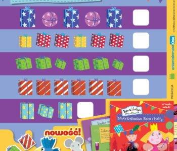 Małe królestwo Bena i Holly zabawa do druku dla dzieci