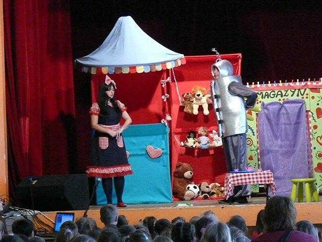 Pan Antenka i srebrny kubraczek w Teatrze Małym - Tychy
