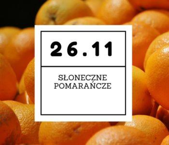 Słoneczne pomarańcze – warsztaty kulinarne