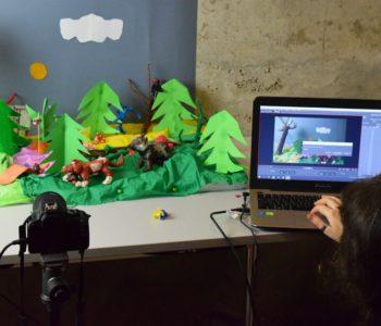 Akademia Animacji - trwa kurs animacji dla dzieci i młodzieży