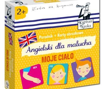 Poradnik + karty obrazkowe: Odkrywam świat. W domu oraz Angielski dla malucha. Moje ciało