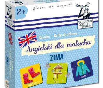 Angielski dla malucha. Zima – Podstawy angielskiego dla najmłodszych