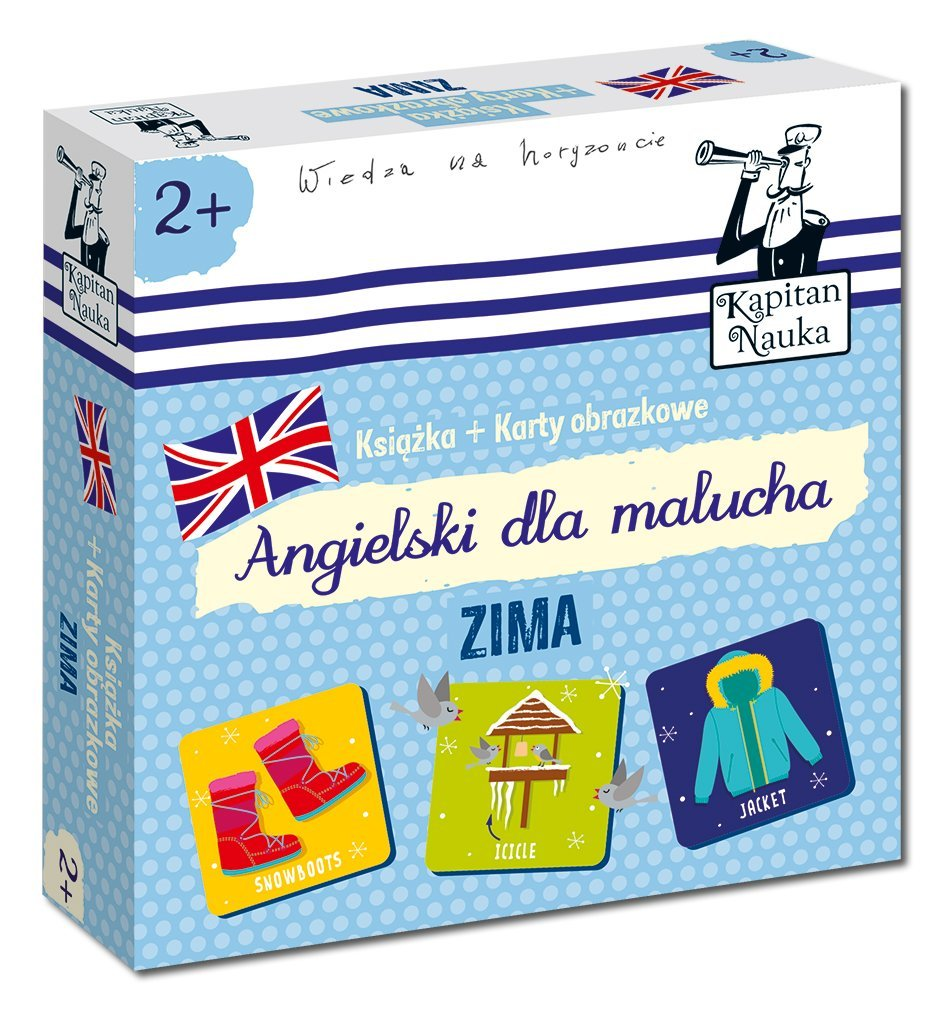 Angielski dla malucha. Zima - Podstawy angielskiego dla dzieci od 2 roku życia