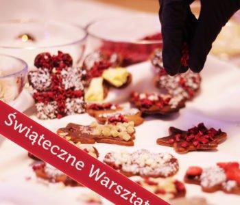 Lepienie bałwana z czekolady - Specjalne warsztaty świąteczne
