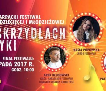Na Skrzydłach Muzyki – finał XIV Podkarpackiego Festiwalu Piosenki Dziecięcej i Młodzieżowej