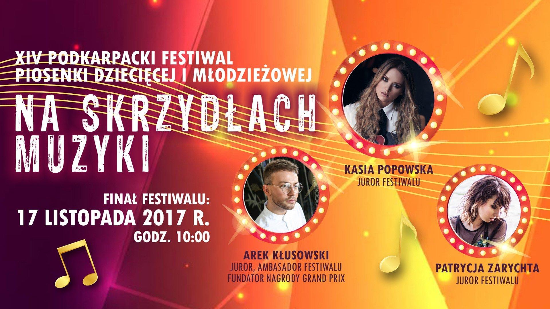 Na Skrzydłach Muzyki - finał XIV Podkarpackiego Festiwalu Piosenki Dziecięcej i Młodzieżowej