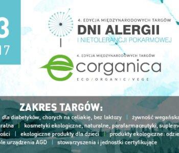 Targi Dni Alergii i Nietolerancji Pokarmowej oraz Międzynarodowe Targi ECORGANICA