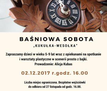 Baśniowa sobota: Kukułka – Wesołka