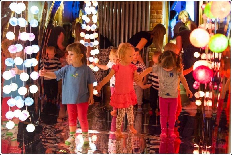 Sensoryczny Labirynt Muzyczny w Teatrze Małego Widza