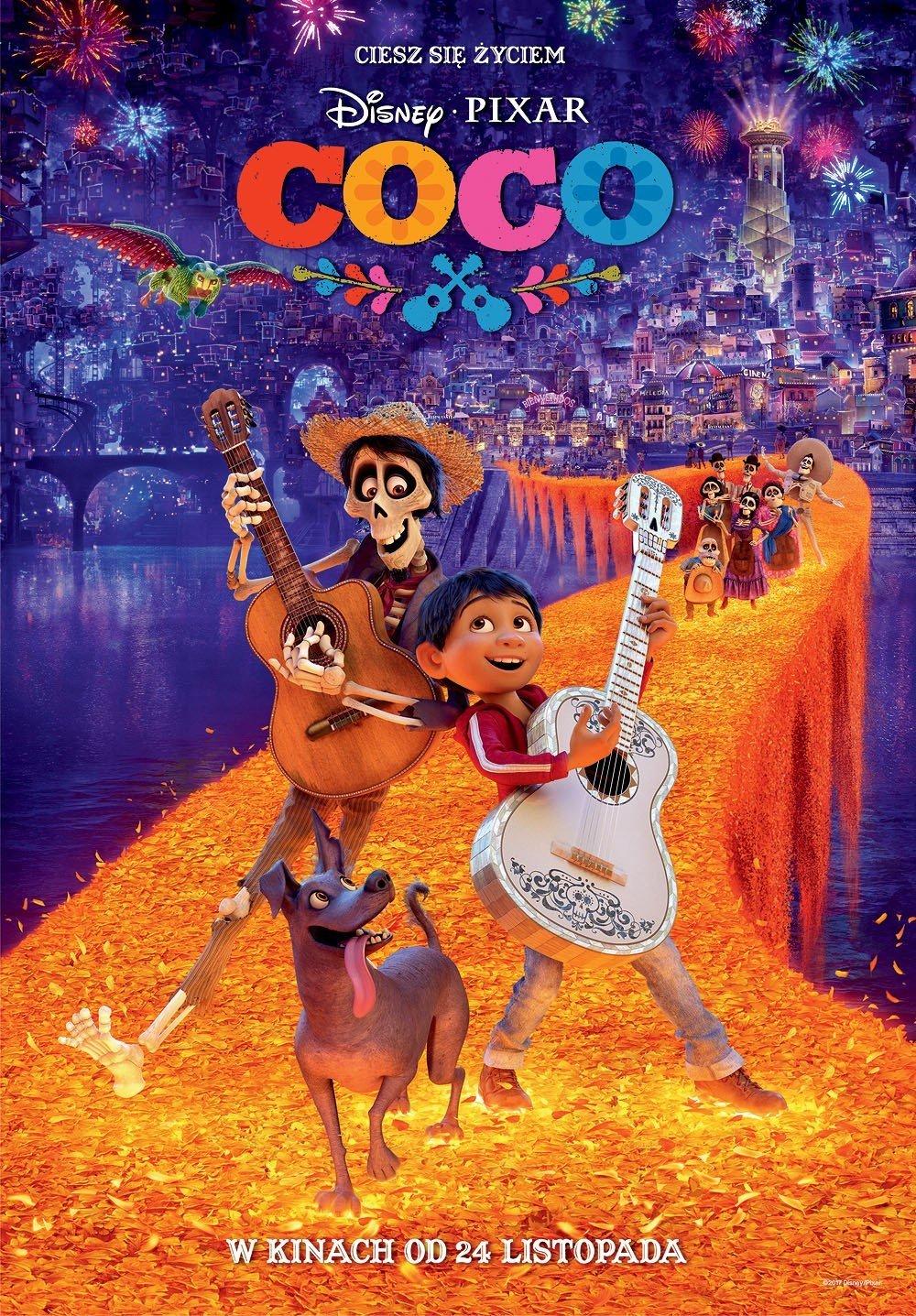 Coco - film w Wejherowskim Centrum Kultury