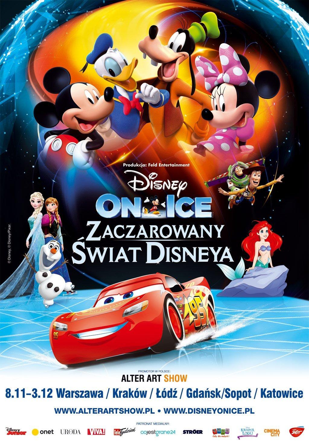 Disney On Ice Prezentuje Zaczarowany świat Disneya W Kilku Polskich
