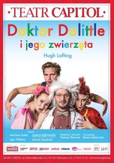 Doktor Dolittle i jego zwierzęta - spektakl w Teatrze Capitol
