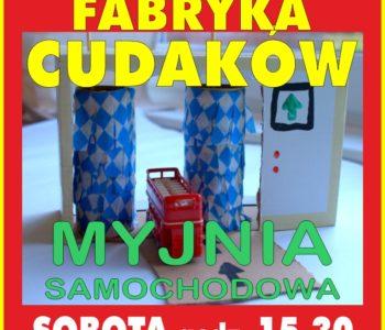Fabryka cudaków – bezpłatne zajęcia plastyczne dla przedszkolaków.