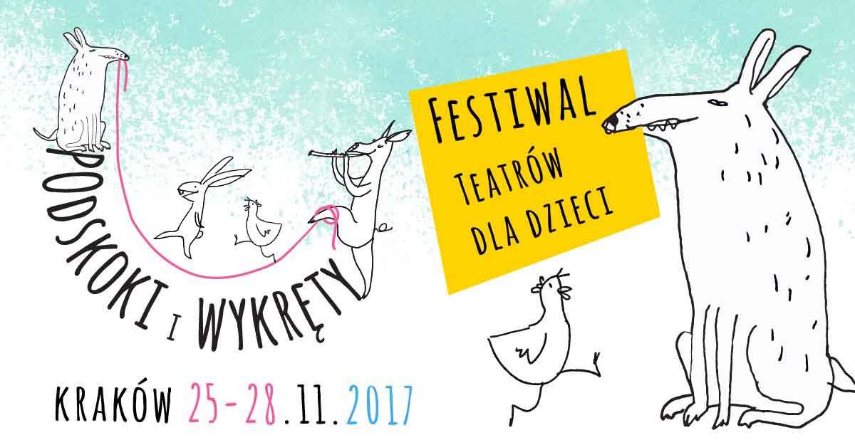 Festiwal Teatrów dla Dzieci: Podskoki i wykręty