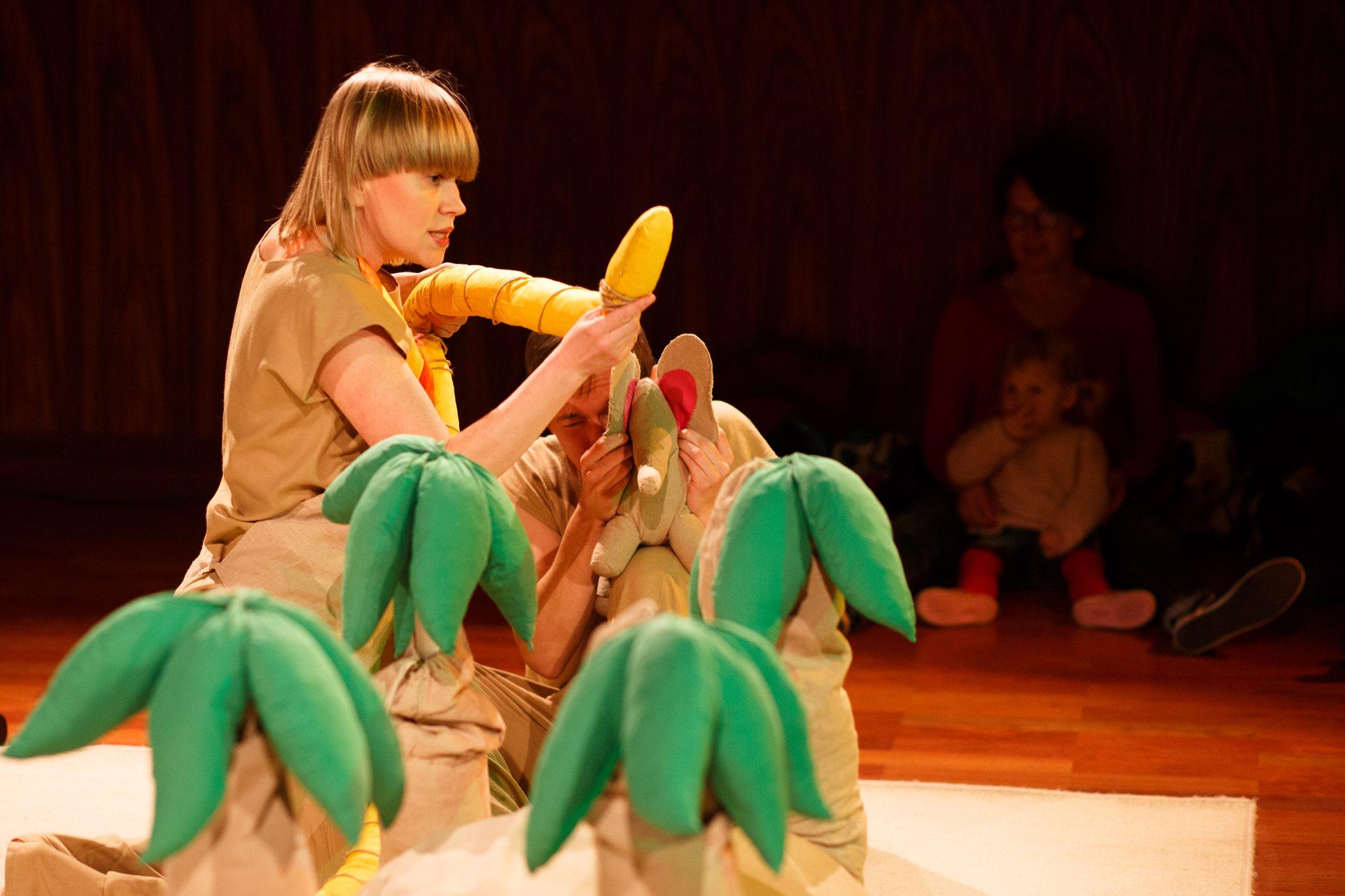 Słoń Trąbibombi. Teatr Atofri dla dzieci i rodziców