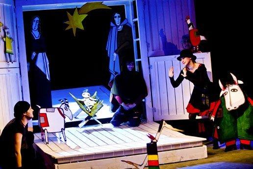 O mniejszych braciszkach św. Franciszka w Teatrze Lalek Guliwer