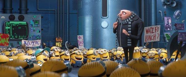 Gru i Minionki na dvd film dla dzieci