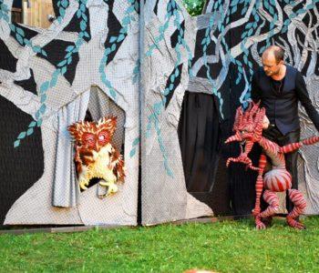 Kłopoty Kacperka góreckiego skrzata na kolejnym Podwieczorku Teatralnym