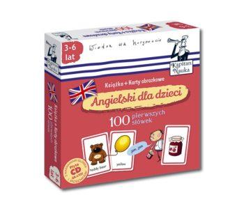 Angielski dla dzieci. Książki + karty obrazkowe. Nowe tytuły serii