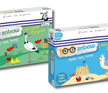 100 zabaw z mewą Ewą i bocianem Stefanem – zestawy dla dzieci