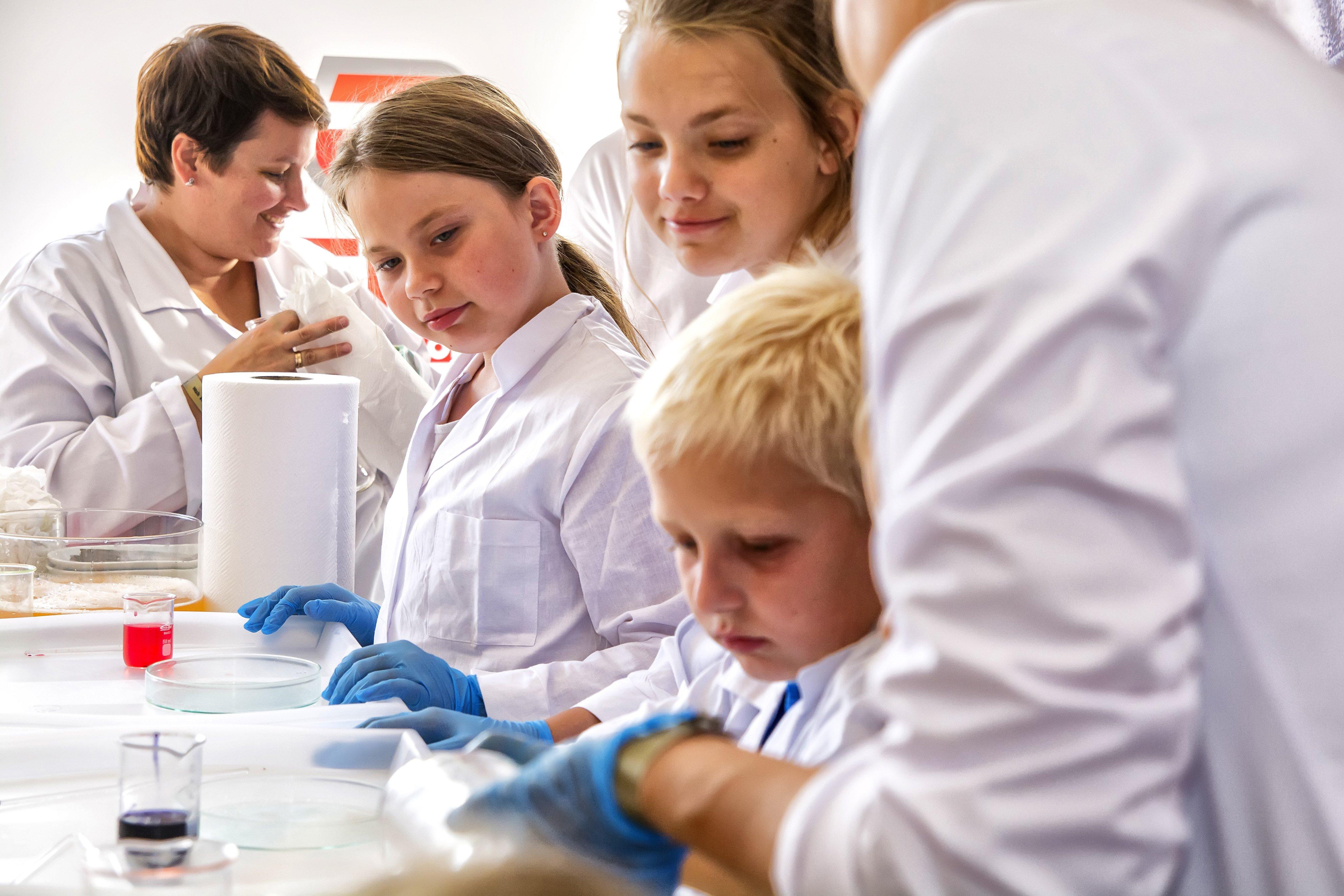 Kraina lodu dla małych naukowców i duńska architektura