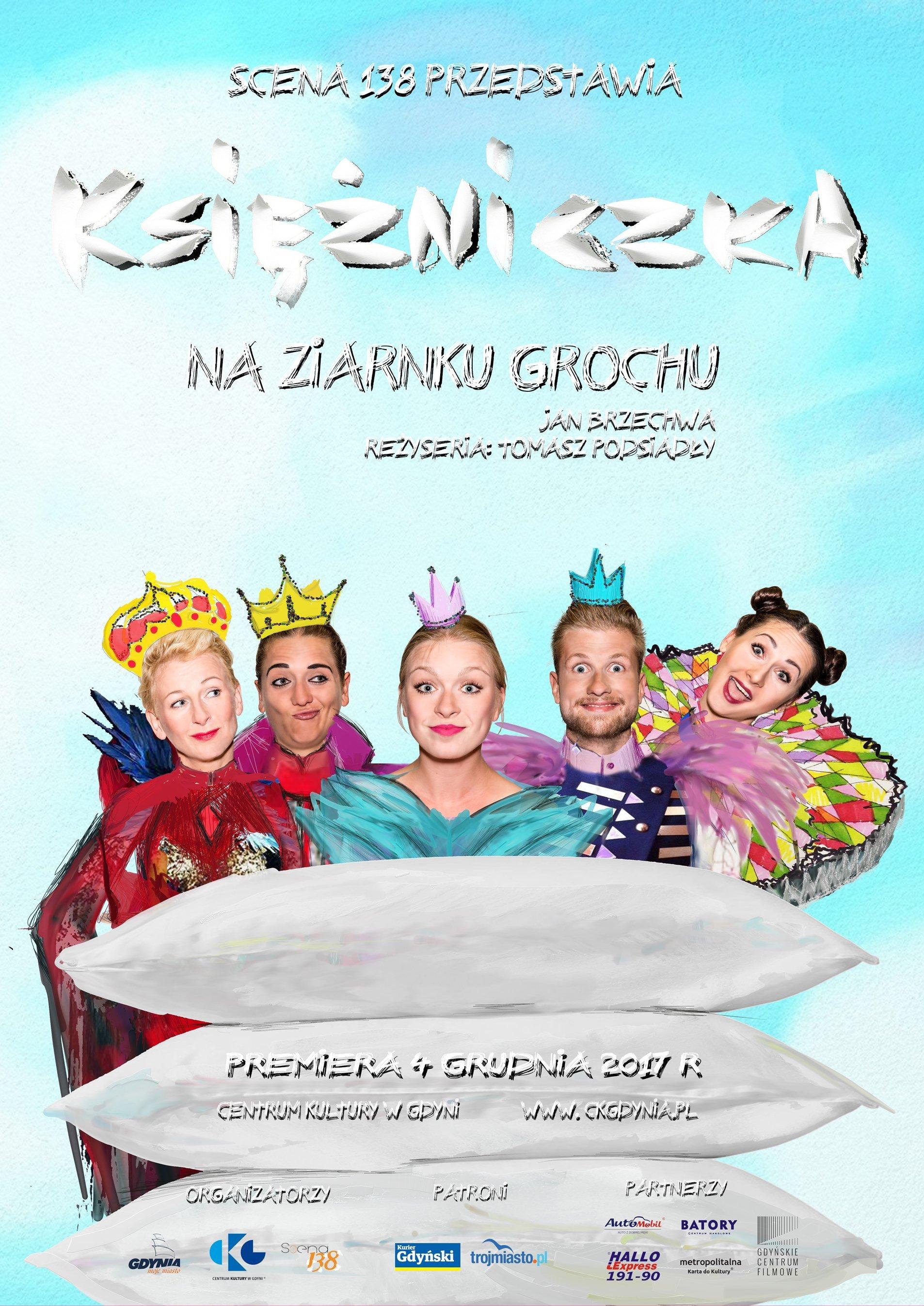 Księżniczka na ziarnku grochu - premiera spektaklu