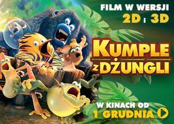 Wygraj zaproszenie do kina na film Kumple z dżungli