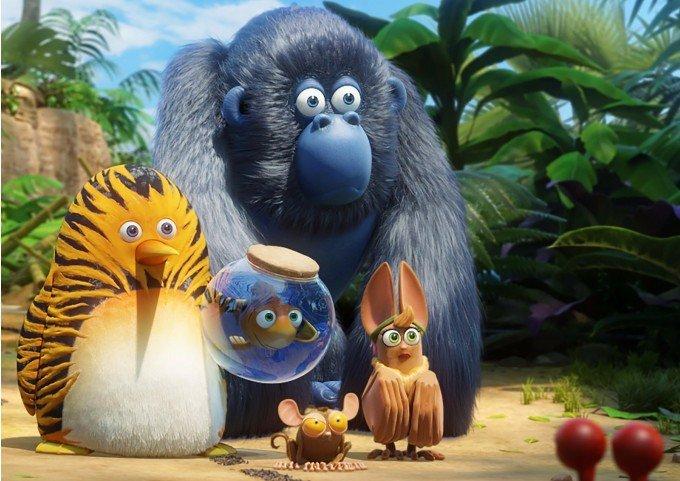 Kumple z dżungli bajka dla dzieci w kinach