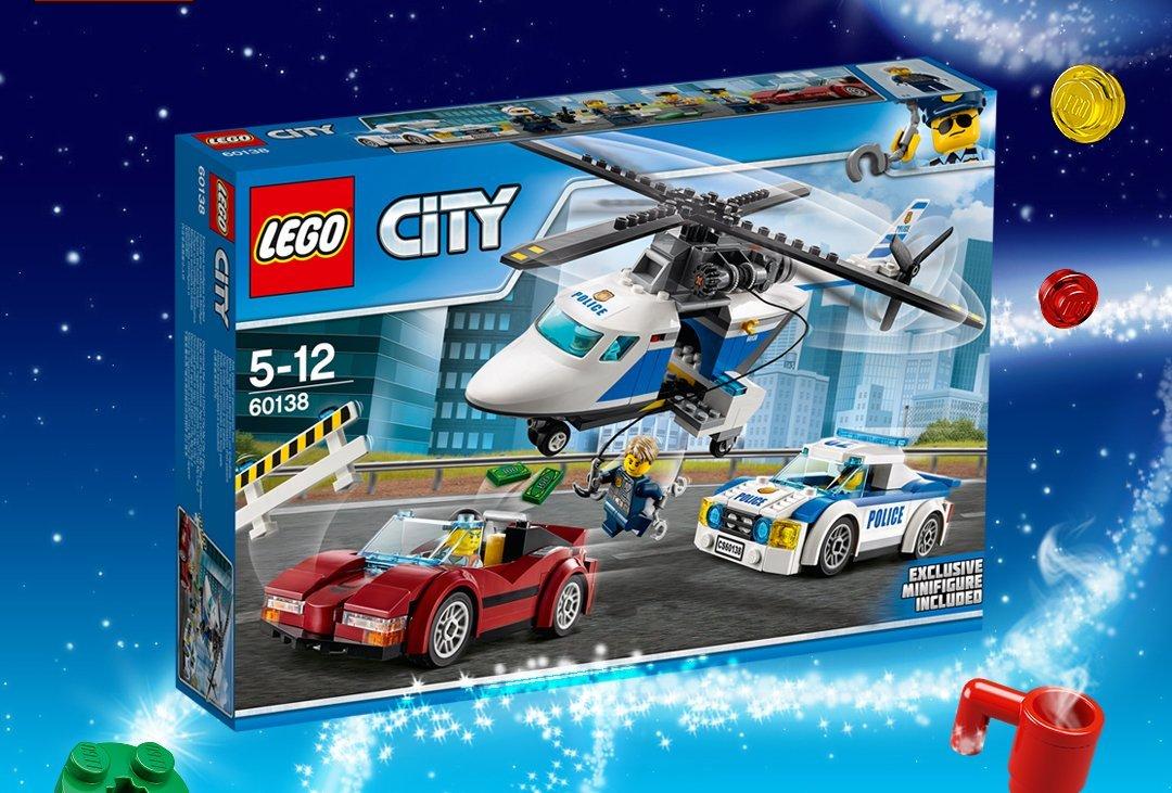 Wygraj klocki lego city konkurs dla dzieci