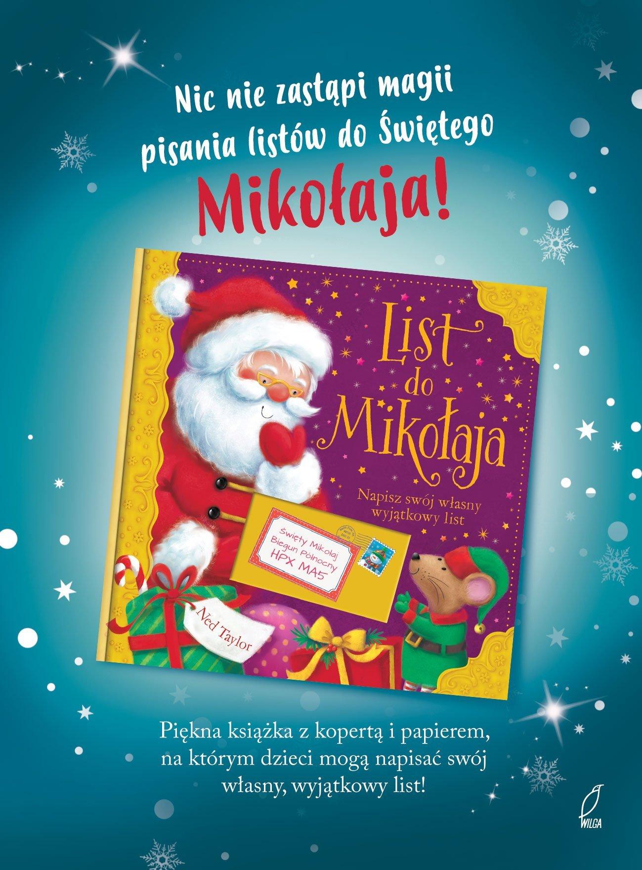List do Mikołaja książka dla dzieci