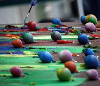 Powietrzne malowanie – warsztaty rodzinne