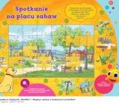Marta mówi znajdź puzzle, zabawy do druku dla dzieci