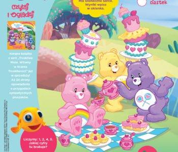Troskliwe misie zabawy do druku Policz słodkości